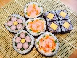 飾り巻き寿司の画像