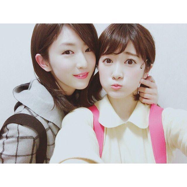 樋口柚子と樋口日奈の画像