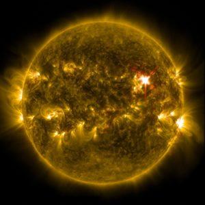 太陽フレア 画像