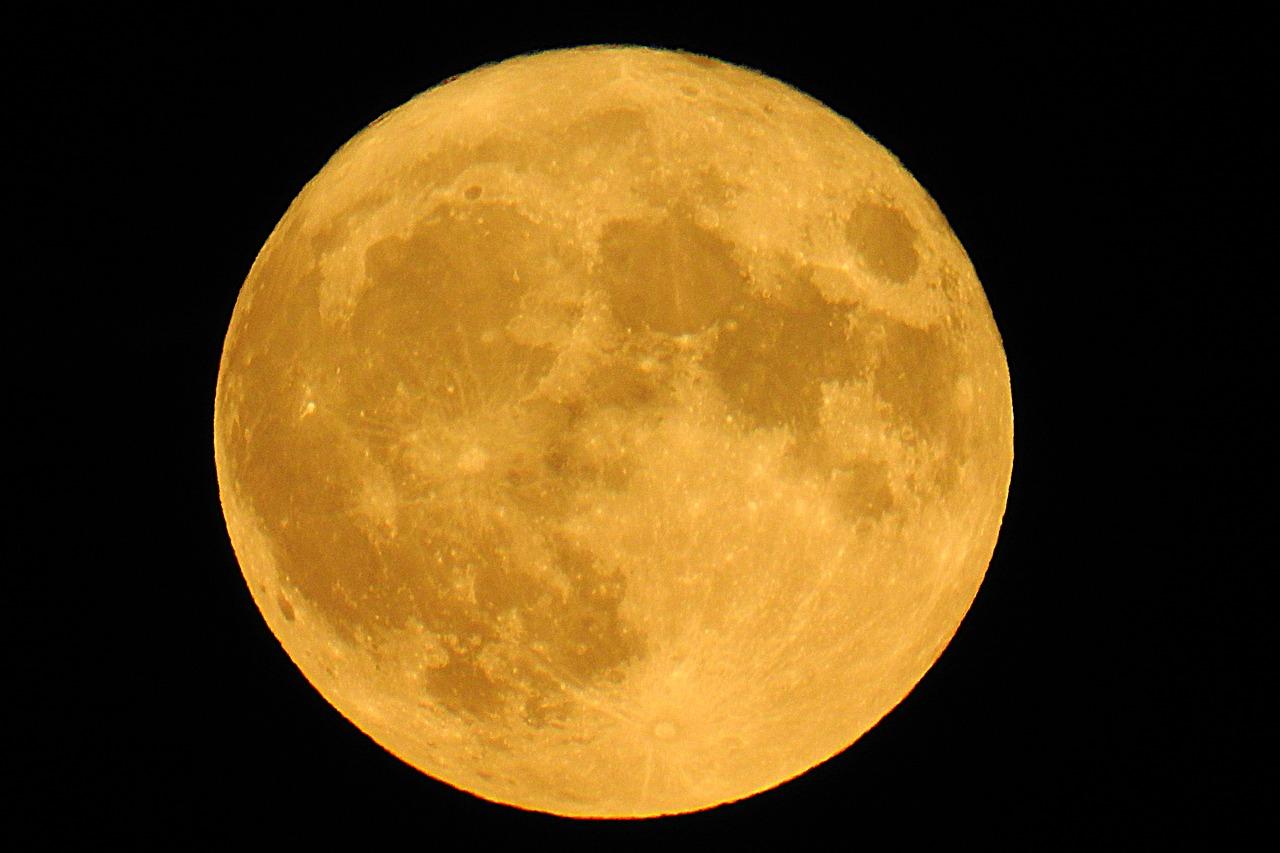 super moon,画像