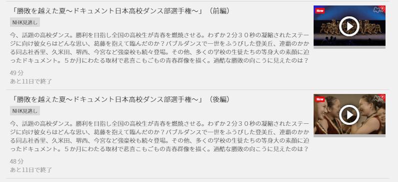 BS1日本高校ダンス部選手権,画像