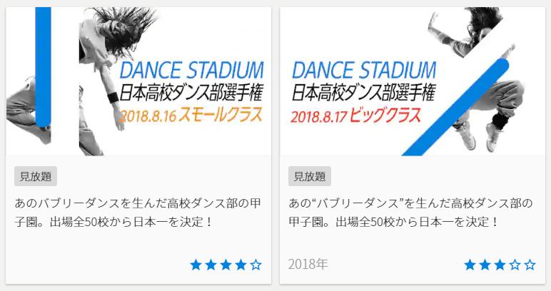 U-NEXT日本高校ダンス部選手権,画像