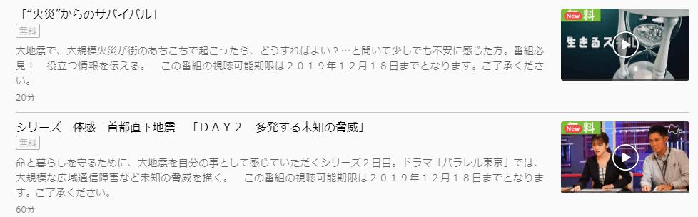 「パラレル東京」DAY2DAY3U-NEXTキャプチャ,画像